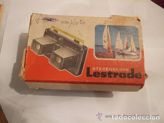 Antigüedades: ESTEREOSCOPIO LESTRADE FRANCIA AÑOS 1950 - Foto 2 - 144002506