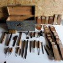 Antigüedades: CAJA DE HERRAMIENTAS ANTIGUA. Lote 144026262
