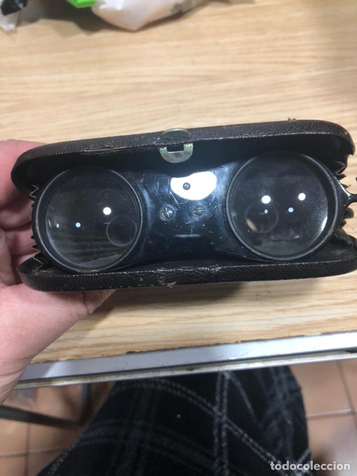 Antigüedades: Preciosos binoculares antiguos franceses - Foto 6 - 144056924