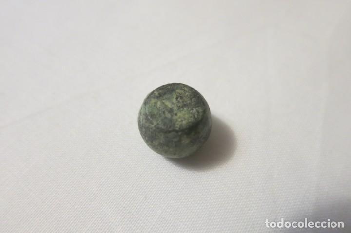 Antigüedades: ponderal Romano comercial 1/2 Uncia - Foto 2 - 144142006