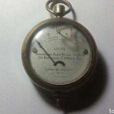 Antiquitäten - Voltimetro. EVEREADY , patente 1910. ( no funciona ) - 144170674