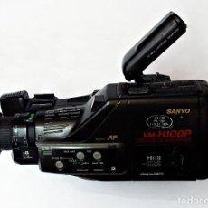 Antigüedades: VIDEO CAMARA SANYO VM-H100P HI8. Lote 144270782