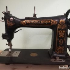 Antigüedades: MAQUINA DE COSER - WHEELER WILSON D9 - MAYO DE 1895. Lote 144279130