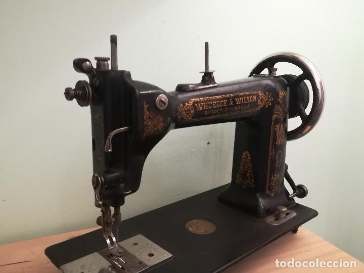 Antigüedades: Maquina de coser - Wheeler Wilson D9 - Mayo de 1895 - Foto 8 - 144279130