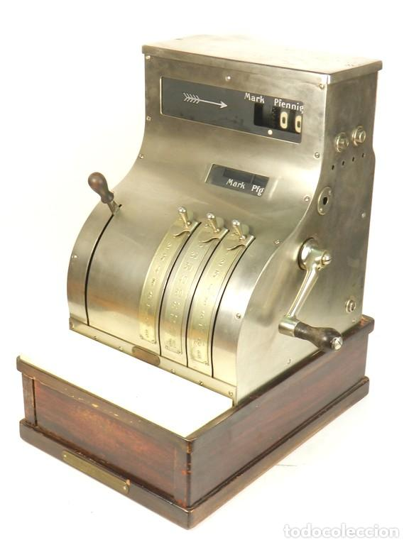 REGISTRADORA NATIONAL AÑO 1930 (Antigüedades - Técnicas - Aparatos de Cálculo - Cajas Registradoras Antiguas)