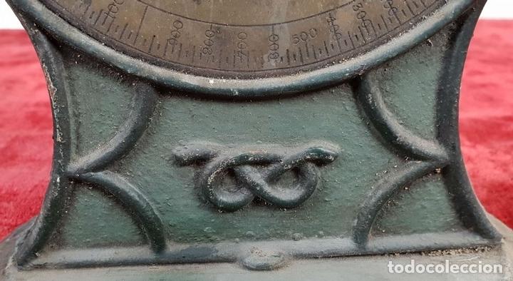 Antigüedades: BALANZA DOMÉSTICA. SALTERS Nº 100. SILVESTERS PATENT. INGLATERRA. CIRCA 1920. - Foto 5 - 144331386