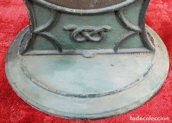 Antigüedades: BALANZA DOMÉSTICA. SALTERS Nº 100. SILVESTERS PATENT. INGLATERRA. CIRCA 1920. - Foto 7 - 144331386