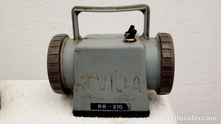 Antigüedades: Dos Linternas Renfe,modelo RR-210 - Foto 2 - 144394970