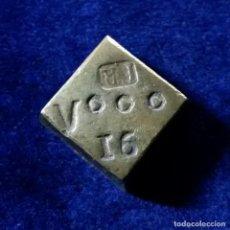 Antigüedades: PONDERAL MONETARIO PESAL DE 8 REALES CONTRAMARCA FR 27 GR. Lote 144449910