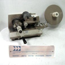 Antigüedades: ANTIGUA IMPRESORA ETIQUETAS MANUAL - NORPRINT MODELO JM - PRINTER LABEL IMPRESION PORTATIL. Lote 144468378