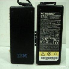 Antigüedades: IBM - ADAPTADOR TRANSFORMADOR PARA THINKPAD LAPTOP ORDENADOR PORTATIL - LUZ 22OV - 16V OUTPUT. Lote 144581546