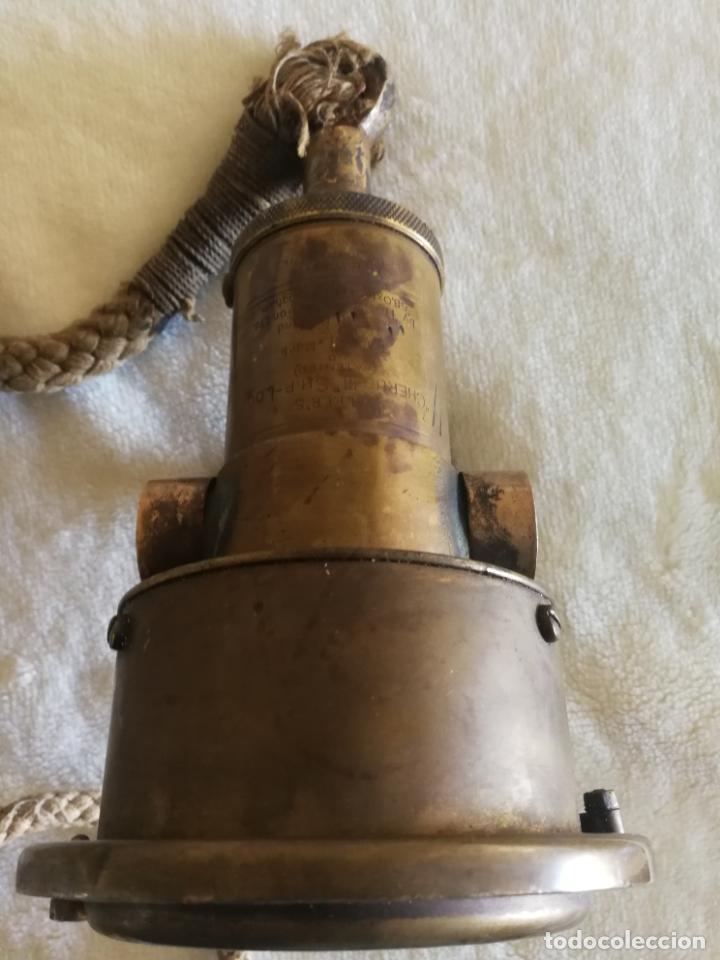 Antigüedades: ANTIGUA CORREDERA WALKERS CHERUB MARK III LOG SHIP - Foto 4 - 144616370
