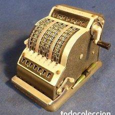 Antigüedades: MAGNIFICA PIEZA DE MUSEO ANTIGUA Y PEQUEÑA CALCULADORA AÑOS 20 MECANICA RESULTA BS 7- PRECIO 242 EU. Lote 144670158