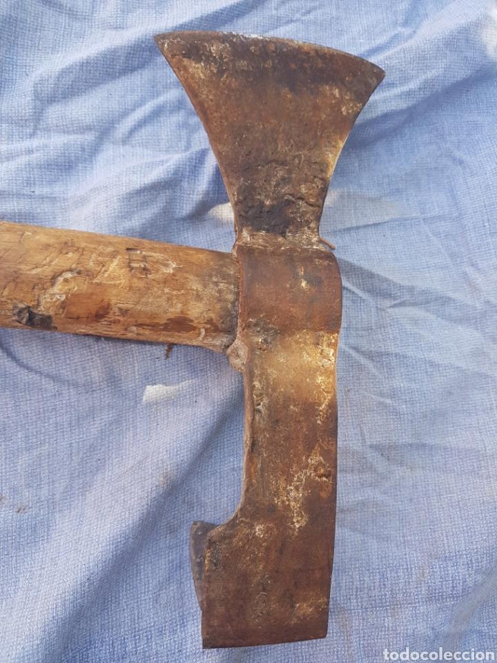 Antigüedades: Antigua y rara hacha de resinar resinacion - Foto 2 - 144709038