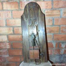 Teléfonos: TELÉFONO DE PARED 1920. Lote 144798450