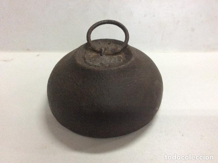 ANTIGUA PESA DE 5 KILOS (Antigüedades - Técnicas - Medidas de Peso Antiguas - Otras)