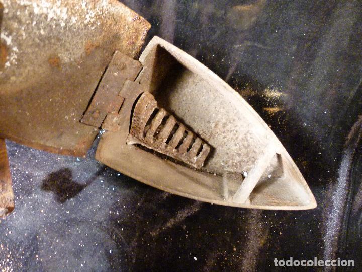 Antigüedades: PLANCHA DE CARBON - Foto 2 - 144927402