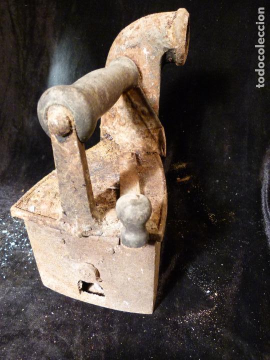 Antigüedades: PLANCHA DE CARBON - Foto 4 - 144927402
