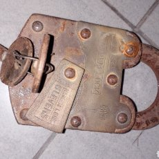 Antigüedades: CANDADO ANTIGUO NADEEM LOCK. Lote 144941140
