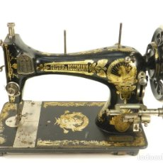 Antigüedades: MÁQUINA DE COSER FRISTER & ROSSMANN AÑO 1909. Lote 144957262
