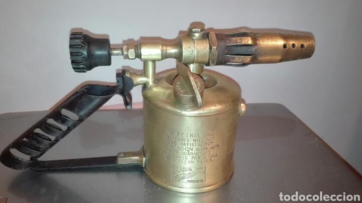 ANTIGUO SOPLETE BRANDON BIRMINGHAN. AÑO 1955 (Antiquitäten - Technische - Professionelle Werkzeuge - Andere Berufe)