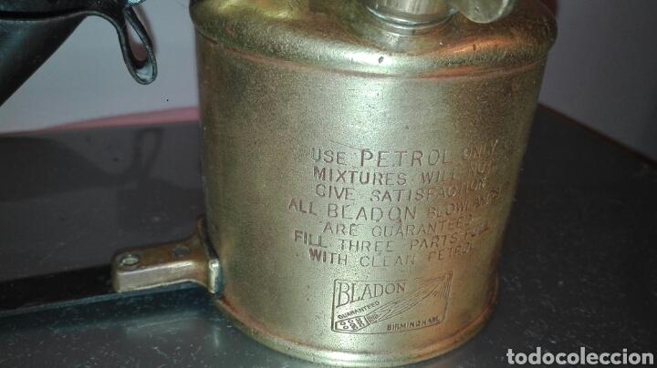 Antiquitäten: ANTIGUO SOPLETE BRANDON BIRMINGHAN. AÑO 1955 - Foto 3 - 145192952