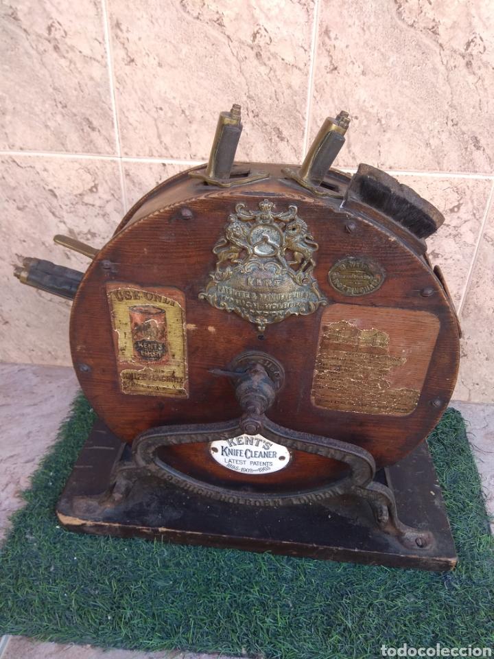Antigüedades: Espectacular Afilador de Cuchillos Inglés Kents XIX - Foto 2 - 145356336