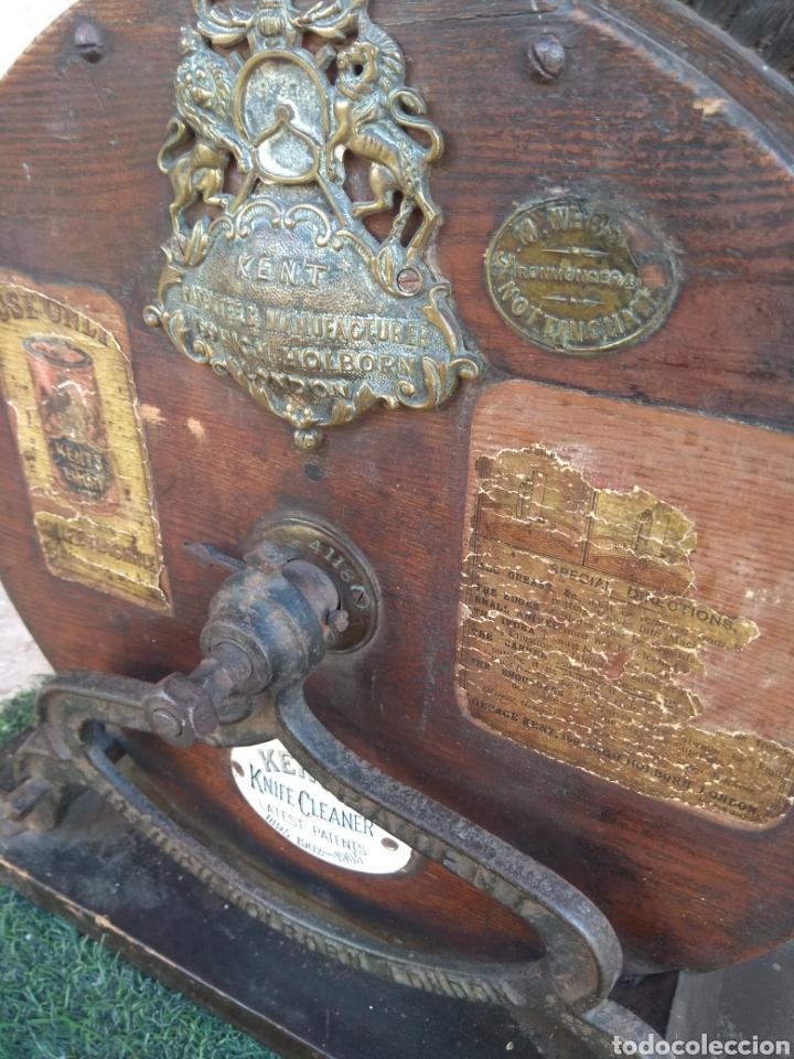 Antigüedades: Espectacular Afilador de Cuchillos Inglés Kents XIX - Foto 3 - 145356336