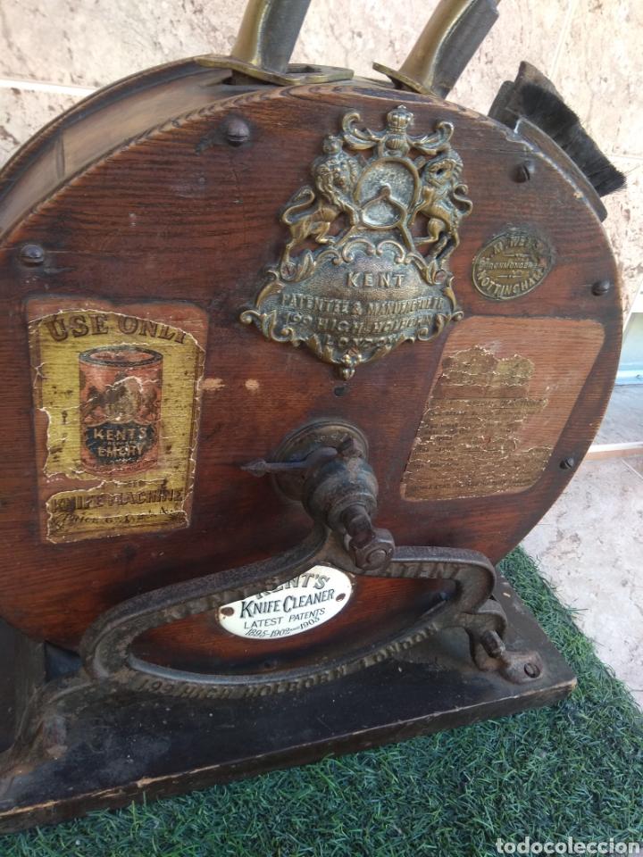 Antigüedades: Espectacular Afilador de Cuchillos Inglés Kents XIX - Foto 4 - 145356336