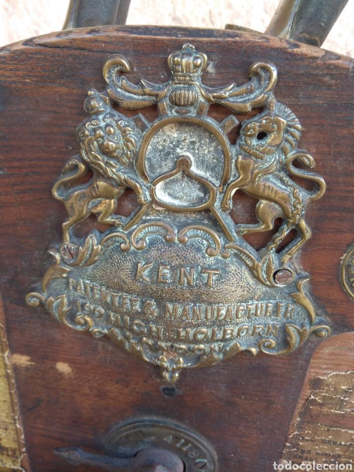 Antigüedades: Espectacular Afilador de Cuchillos Inglés Kents XIX - Foto 5 - 145356336