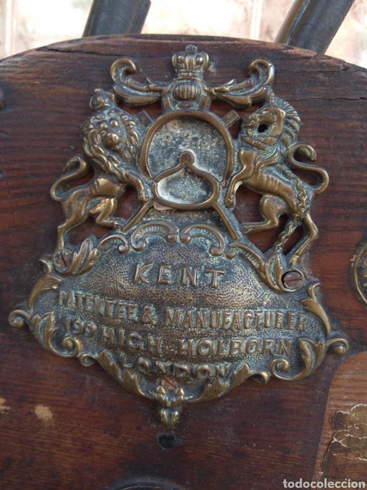 Antigüedades: Espectacular Afilador de Cuchillos Inglés Kents XIX - Foto 6 - 145356336