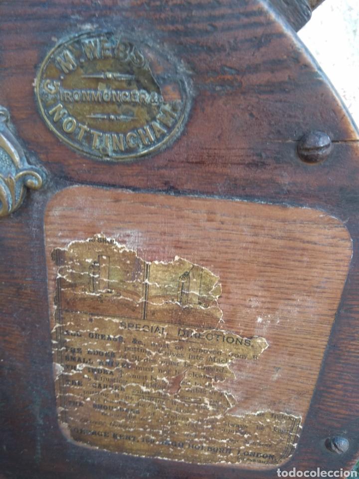 Antigüedades: Espectacular Afilador de Cuchillos Inglés Kents XIX - Foto 7 - 145356336