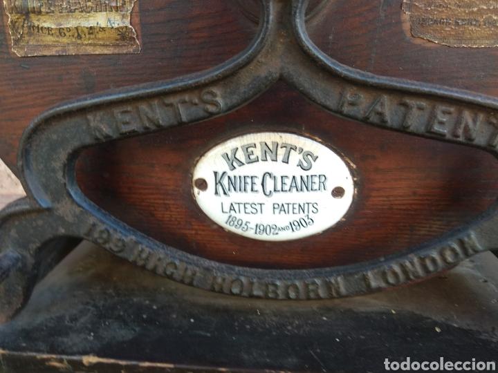 Antigüedades: Espectacular Afilador de Cuchillos Inglés Kents XIX - Foto 11 - 145356336