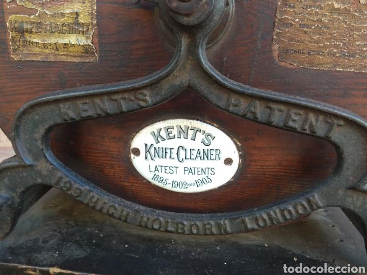 Antigüedades: Espectacular Afilador de Cuchillos Inglés Kents XIX - Foto 12 - 145356336