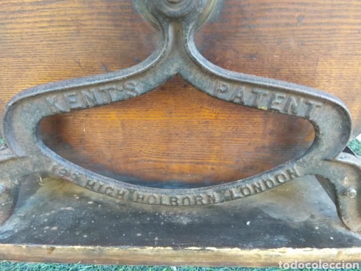 Antigüedades: Espectacular Afilador de Cuchillos Inglés Kents XIX - Foto 20 - 145356336