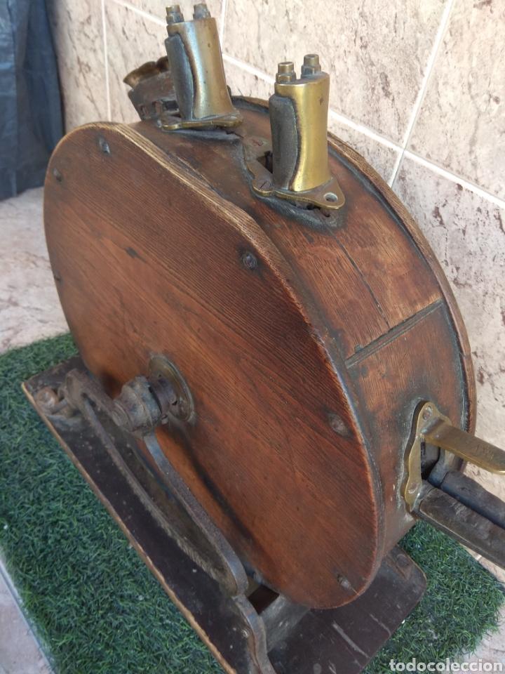 Antigüedades: Espectacular Afilador de Cuchillos Inglés Kents XIX - Foto 22 - 145356336