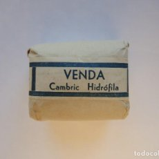 Antigüedades: VENDA CAMBRIC HIDRÓFILA. Lote 145361242