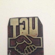 Antigüedades: U.G.T. MIDE 37X37 MM. Lote 145398006