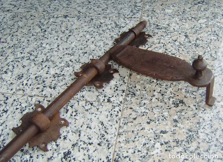 Antigüedades: Antigua falleba de porton.Marcada. - Foto 6 - 145534974