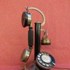 Teléfonos: ANTIGUO TELEFONO DE COLUMNA, DE ORIGEN FRANCES, FABRICADO EN 1930.. Lote 145614666