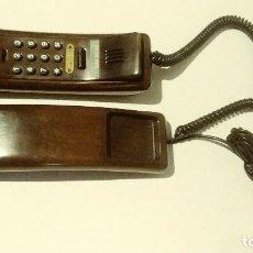 Telefoni: TELEFONO GONDOLA DE MADERA SOLAC. Lote 145665546