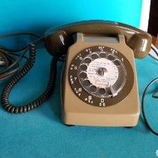 Teléfonos: TELEFONO MILITAR VINTAGE SOCOTELL S 63 DE 1981 CON AURICULAR EXTRA FRANCES. Lote 145705310