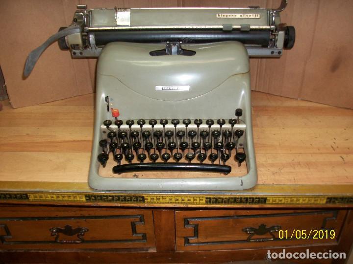 ANTIGUA MAQUINA DE ESCRIBIR-HISPANO OLIVETTI-MODELO LEXICON 80 (Antigüedades - Técnicas - Máquinas de Escribir Antiguas - Olivetti)