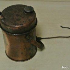 Antigüedades: LAMPARA DE CARBURO . Lote 145918190