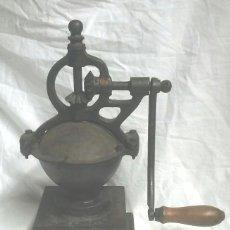 Antigüedades: MOLINILLO DE CAFÉ ELMA Nº 1. COMPLETO TODO DE ORIGEN. MED 36 CM ALTURA. Lote 145942118