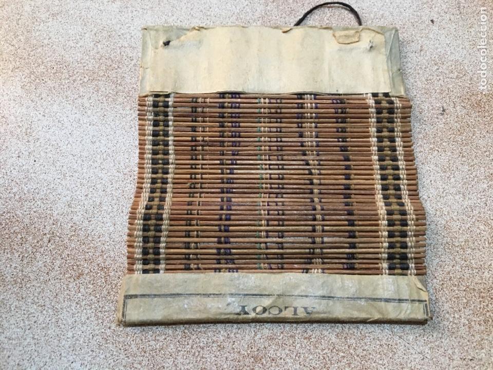 Antigüedades: Utensilio esterilla liar tabaco Iborra Paya Alcoy - Foto 2 - 145946881