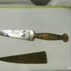 Antigüedades: PUÑAL 1915. Lote 145955470