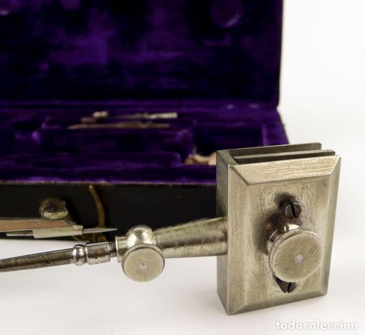 Antigüedades: Kern & Cie. Aarau Suisse (1885-1900) -Drafting Instruments-Instrumentos técnicos dibujo arquitectura - Foto 4 - 146089810