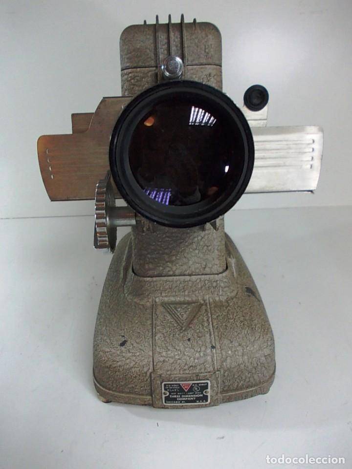 Antigüedades: Antiguo reproductor VINTAGE TDC DUO Vivid Viewer - Foto 4 - 146139450