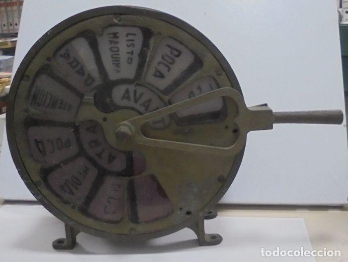 Antigüedades: Telegrafo Nautico ordenes a sala de maquinas. Bronce. 15 x 28 x 32 cm. Ver fotos. Leer descripcion - Foto 2 - 146195782